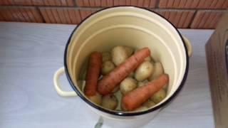 """#183. ВАРИМ ОВОЩИ НА САЛАТ, правильно варим овощи на салат""""Оливье"""", """"Сельдь под шубой"""", """"Свекольный"""""""