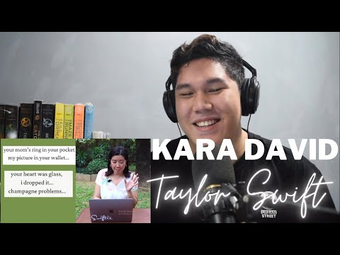SWIFTIE reacts to Kara David Analyzes Taylor Swift's champagne problems