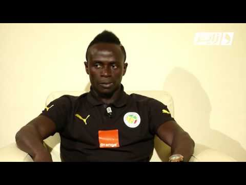 Interview exclusive de Sadio Mané International Sénégalais HD