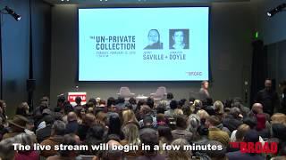 The Un-Private Collection: Jenny Saville + Jennifer Doyle | The Broad Museum