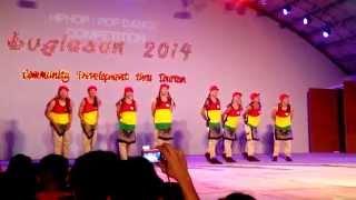 SKIP DANCE CREW - BUGLASAN 2014 MODERN DANCE COMPETITION