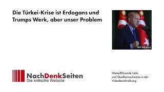 Die Türkei-Krise ist Erdogans und Trumps Werk, aber unser Problem | Jens Berger