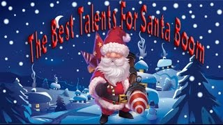 The Best Talents Santa Boom