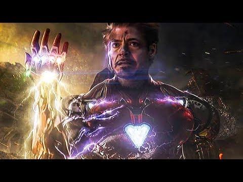 Вот что увидел Тони Старк использовав Камни Бесконечности в Финале