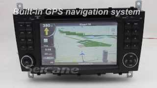 Mercedes Benz C Class W203  stereo specialized gps navigation system with Digital TV RDS Ipod