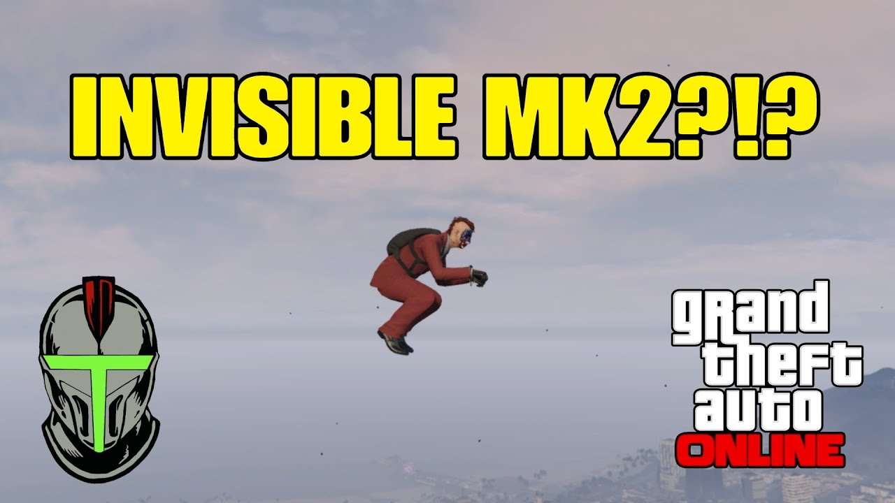 How to Make The Oppressor MK2 INVISIBLE!!! GTA Online