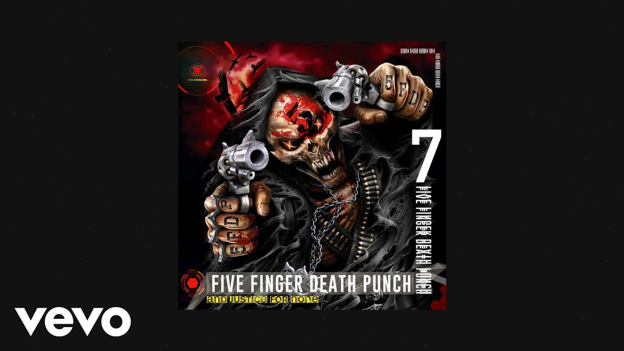 five finger death punch blue on black audio
