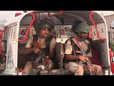 Karachi Airport attack: at least 25 killed