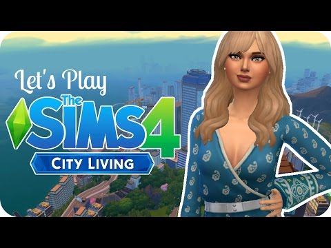 Sims 4 City Living Let's Play - EP 1 - COUNTRY GIRL & CITY BOY