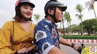 Xôn xao clip học sinh lớp 10 dẫn cô giáo đi ăn hủ tiếu kế bên Tòa án mới Gò Dầu Tây Ninh