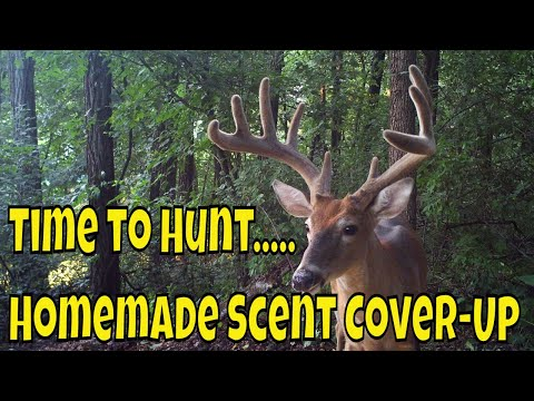 Time To Hunt...Homemade Hunting Scent Cover Up