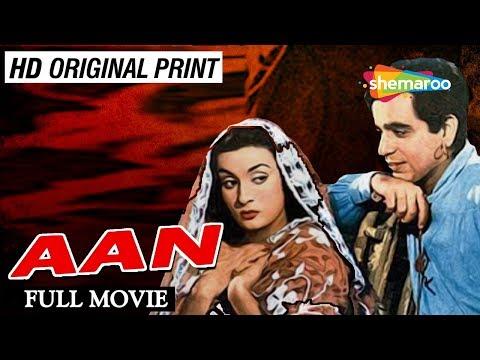 Aan (1952) | Dilip Kumar | Nimmi | Prem Nath | Nadira | Murad | Mukri | Old Classic Movie