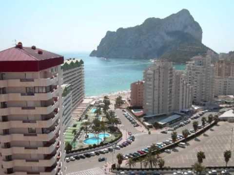 Vente appartement  vendre Calpe Espagne appartements en vente  Immobilier bord de mer  YouTube