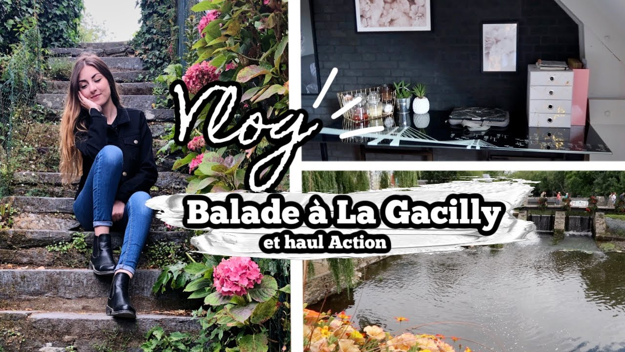 VLOG⎟Balade à La Gacilly, mini haul Action...