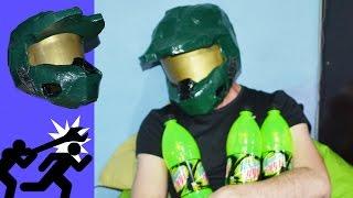 Como fazer o capacete do Master Chief! (Mark VI)