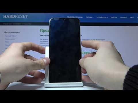 Samsung Galaxy A30s - Как вставить SIM карту и карту памяти
