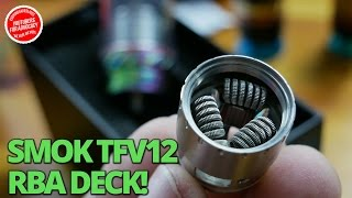 SMOK TFV12 The Cloud Beast King Unboxing and Build + Wicking on VapeAM!