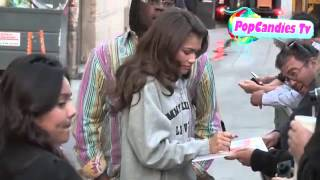 Zendaya Coleman on Val Chmerkovskiy & Dorothy Hamill departing DWTS in Hollywood Thumbnail