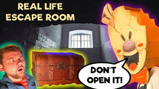 Ice Scream ROD Locked me in Real Life Escape Room  - CYROX