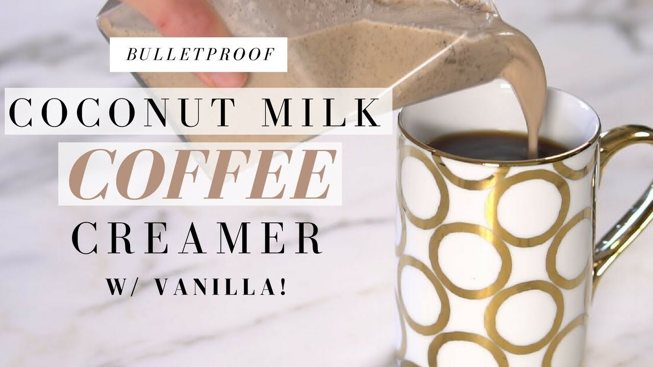 BULLETPROOF Coffee Recipe COCONUT MILK