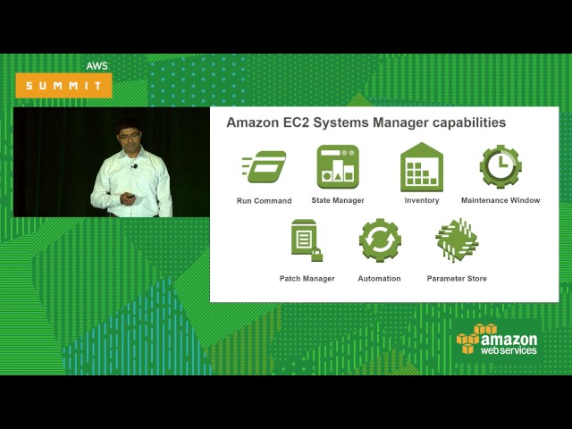 Deep Dive with Amazon EC2 Systems Manager [ENT401] - YouTube