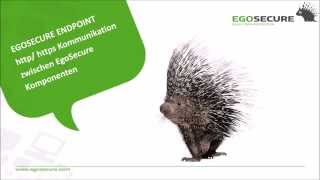 EgoSecure Endpoint: https + PKI Unterstützung für Client - Server Verbindung