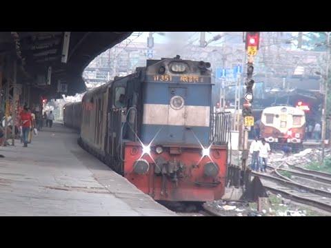 SUPER DUPER DURONTO VS DURONTO EXPRESS CAPTURED AT THANE, MUMBAI