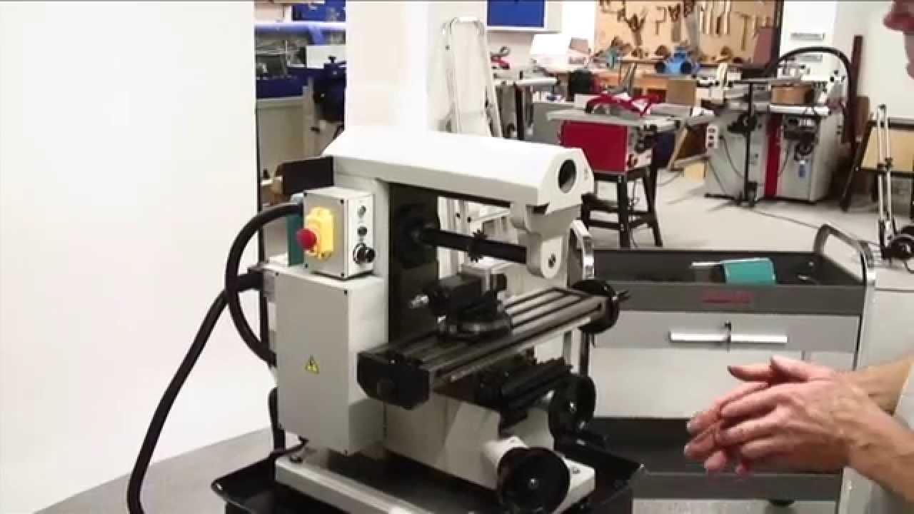 Axminster Engineer Series Su1 Universal Mill Youtube