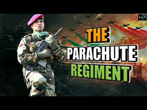 Parachute Regiment - Paratroopers Of Indian Army | Indian Para Commandos (Hindi)