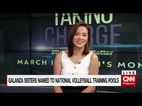 Galanza sisters named to national volleyball training pools