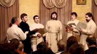 Sirin Ensemble - early Russian polyphony (hymns on Nativity)