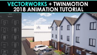Vectorworks & Twinmotion 2018 Animation Tutorial by Innovative