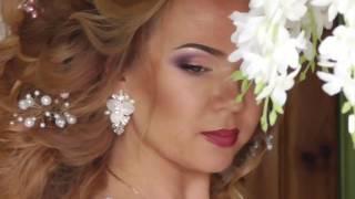 Образ невесты 2017. Крупные локоны. The image of the bride in 2017. Large curls