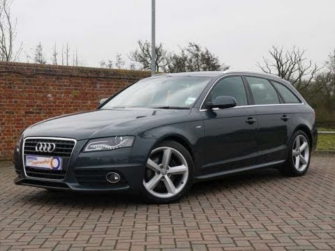 2009 Audi A4 Avant S Line 2 0tdi 143 For Sale In Hampshire
