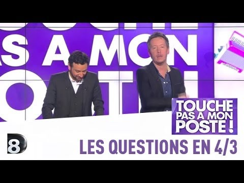Les questions en 4/3 de Jean-Luc Lemoine - TPMP - 06/03/2014