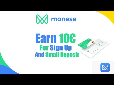Earn 10€ Welcome Reward From Monese (Easy)