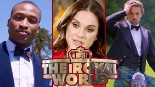 Vicky Pattison Meets The Dashing Royal World Lads   The Royal World