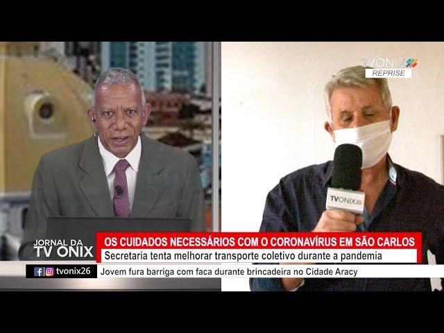 Jornal da TV Onix - Ao Vivo: 25/05/2021