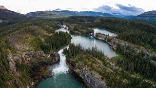 Monkman Cascades - Tumbler Ridge, BC - Quadcopter Crash - DJI Phantom 2 Vision Plus
