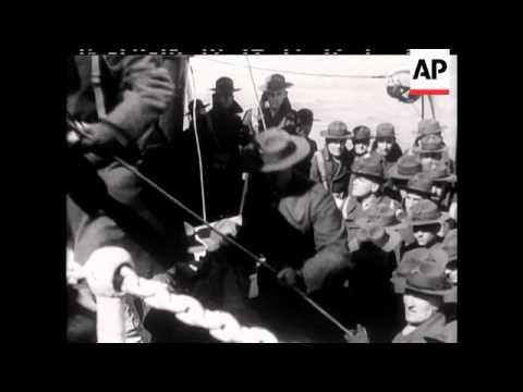 Marines Leave Shanghai
