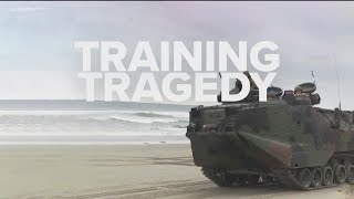1 dead, 2 Marines hospitalized, 8 servicemembers missing after routine amphibious assault vehicles o