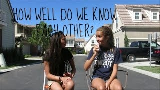 HOW WELL DO WE KNOW EACH OTHER? Thumbnail
