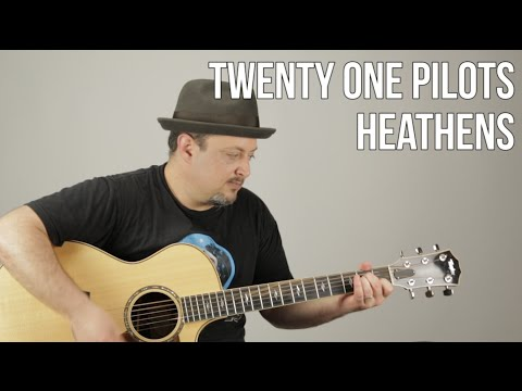 Twenty One Pilots - Heathens - Guitar Tutorial