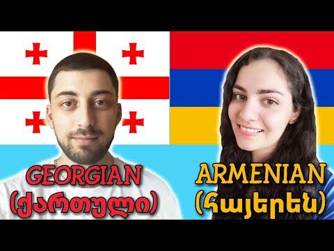 Similarities Between Georgian And Armenian
