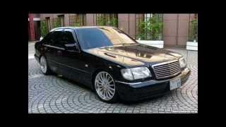 mercedes benz s class w140 s600 s500 s420 s320 best clip great song
