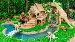 Rescue Poor Puppy Build Dog House And Fish Pond