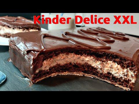 kinder-delice-géant-xxl-(recette-facile)