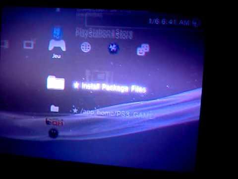 Jailbroken PS3 Install Package Files Black Screen Help Please