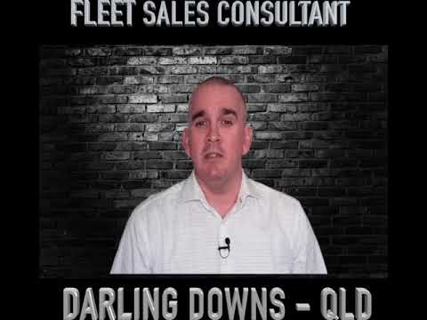 NEW ROLE ALERT - Fleet Sales Consultant | Darling Downs