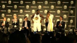 WARRIORS-RAKUTEN: Iguodala likens deal to own signing, to Myers,